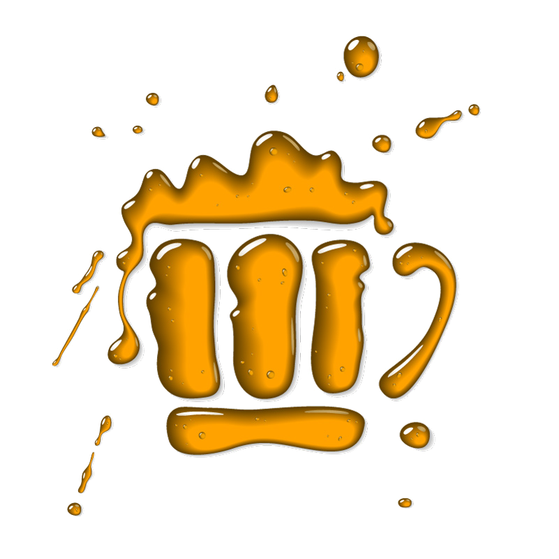 Liquid-Beer-Mug-Logo-Vector