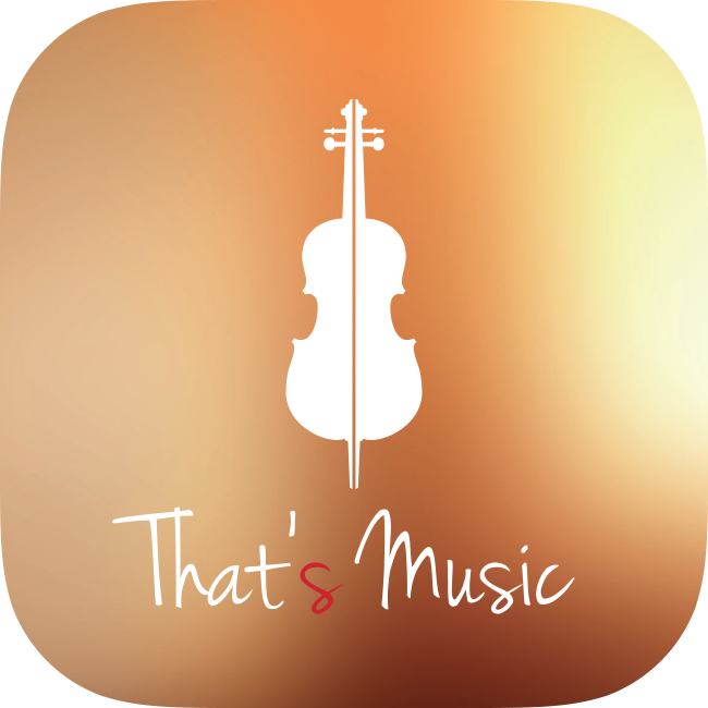 ThatsMusic Logo fronte HD